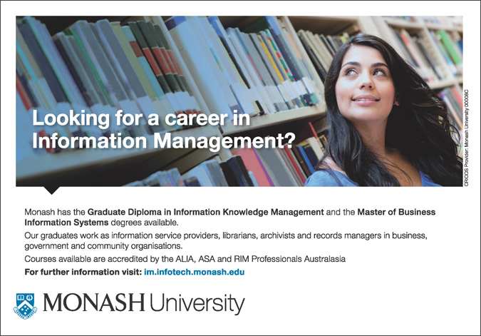 Looking for a career in Information Management? (pdf, 877kb)